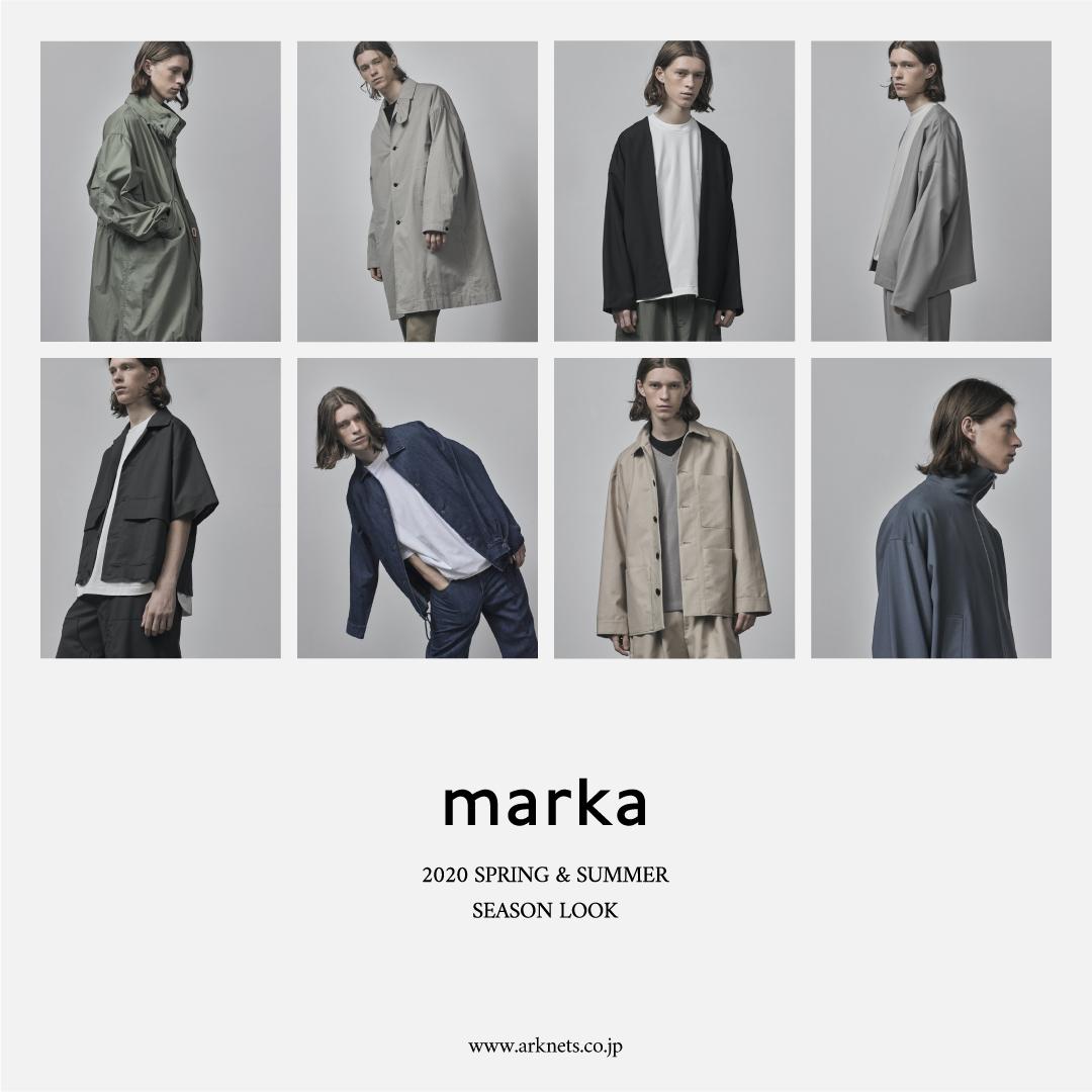 marka 20SS SEASON LOOK