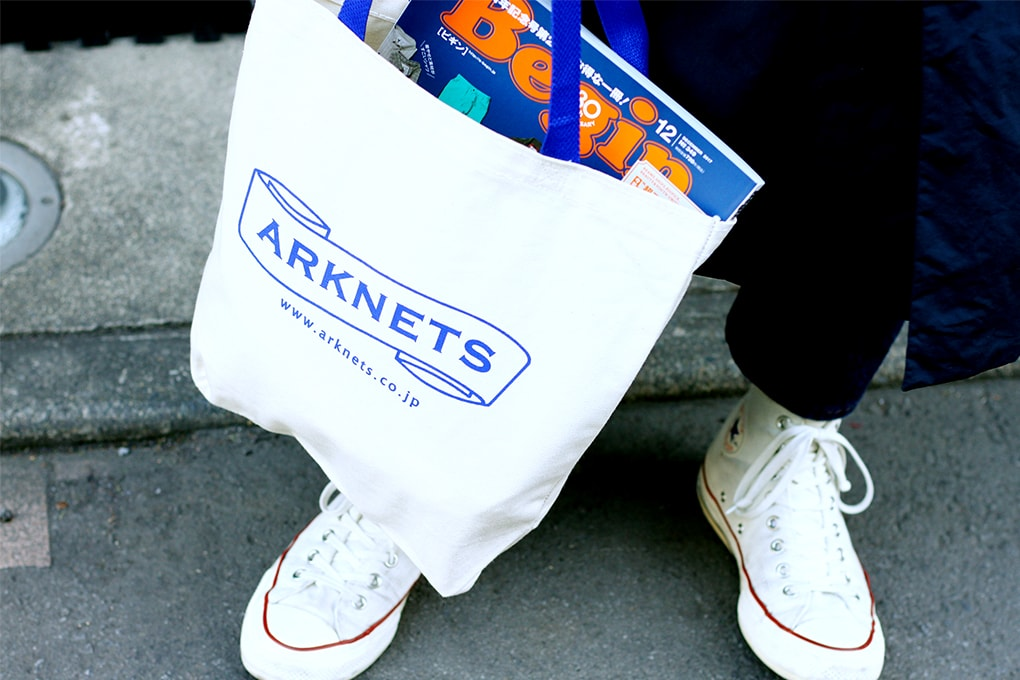 ARKnets×Begin MADE IN USA 別注トートバッグ