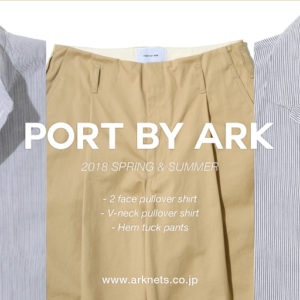 PORT BY ARK 18 SPRING & SUMMER COLLECTION