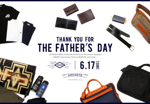 Thank you for the Father's Day|父の日特集